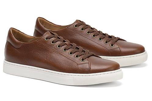 Trask Alder Sneakers in Saddle Tan