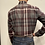 Thumbnail: Haupt Maroon and Grey Check Flannel 30505