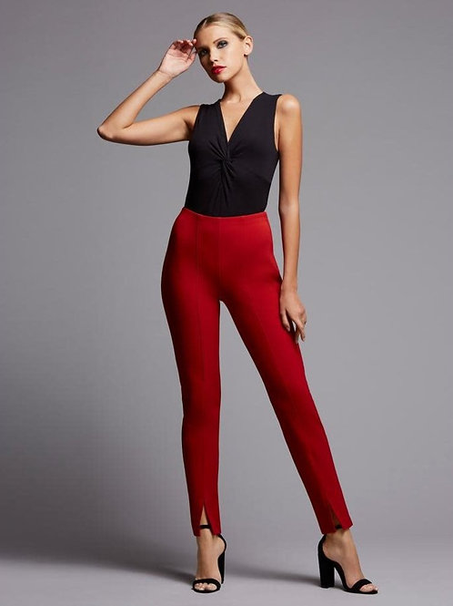 Bailey/44 Claudine Trouser in Red 411-2961