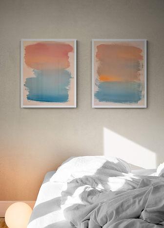 Abstraktes-Gemälde-neon-cloud-Malerei-Manufaktur