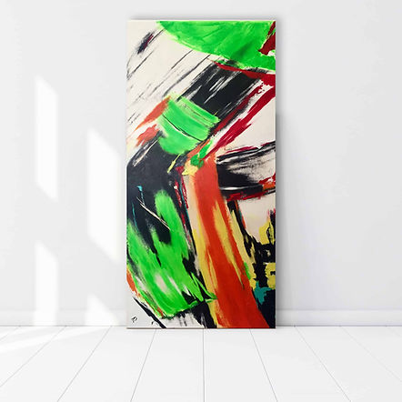 Abstraktes-Gemälde-Überlagerung-Malerei-Manufaktur