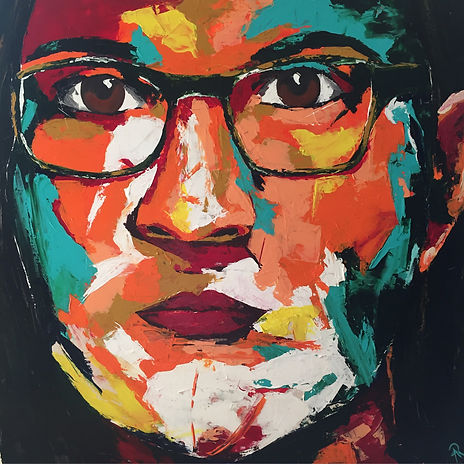 Portrait-Melanie-Malerei-Manufaktur