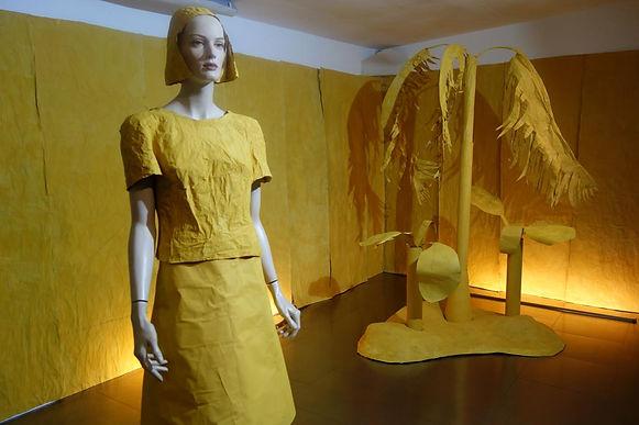 Raumbild - Gelb