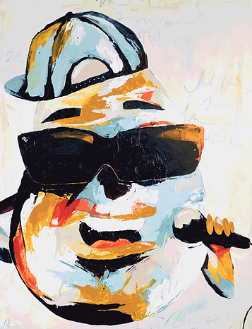 Abstraktes-Gemälde-Potato-Malerei-Manufaktur