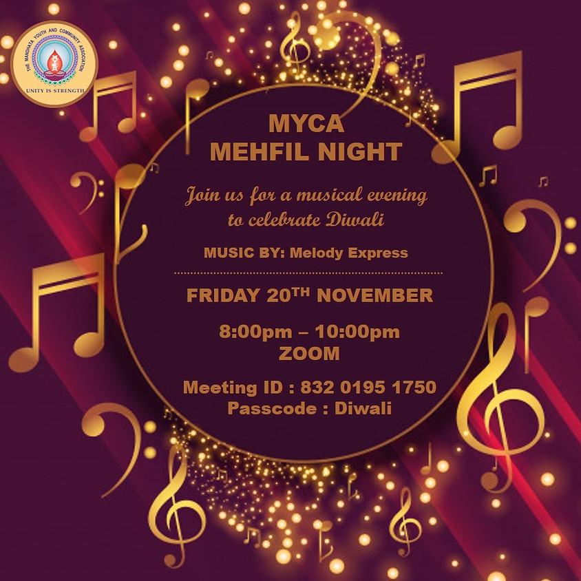 Diwali Mehfil Night