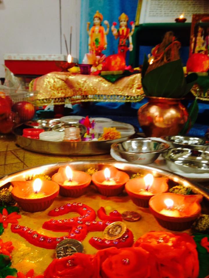 MYCA Wembley Gujarati School - Lakshmi Pooja