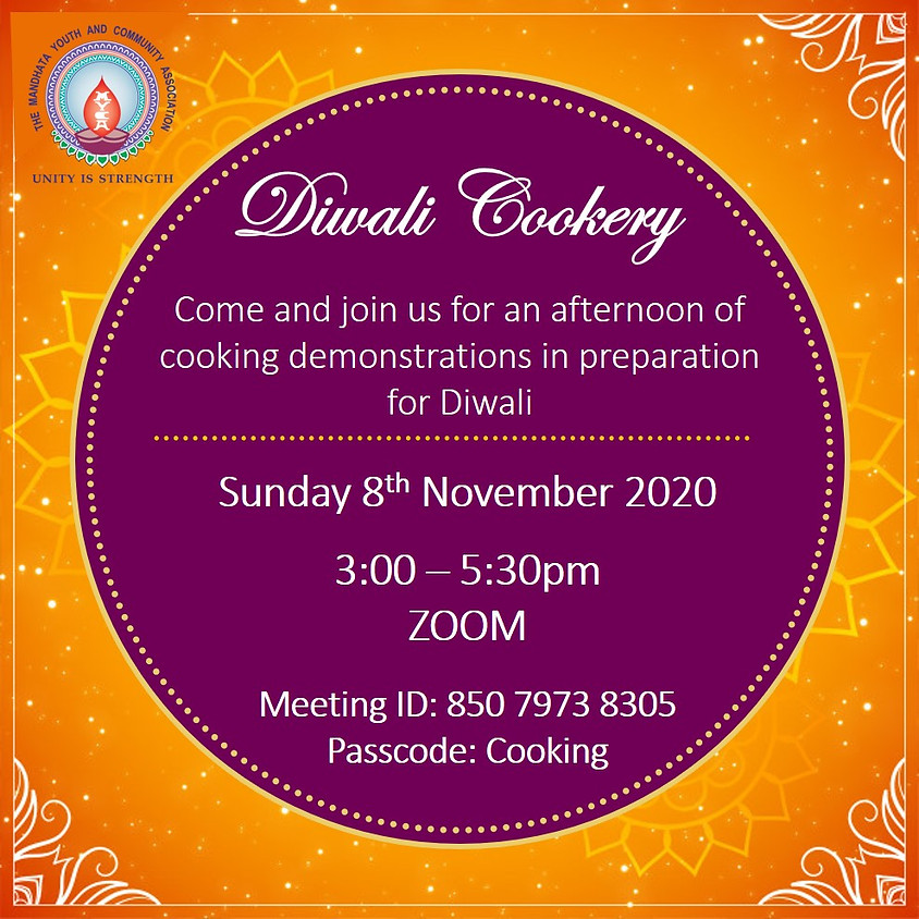 Diwali Cookery Demonstration