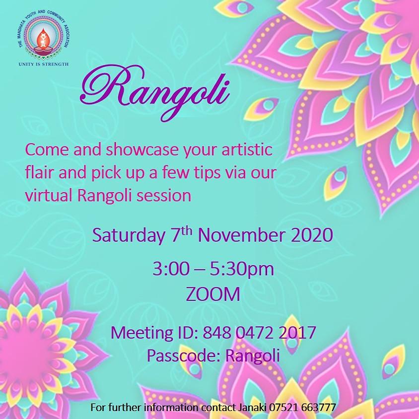 Virtual Rangoli
