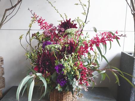 1月のお届け花