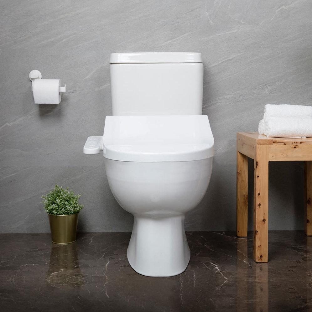 Marvelous Multi Functional Smart Wifi Toilet Seat Led Night Light Adjustable Water Temp Ibusinesslaw Wood Chair Design Ideas Ibusinesslaworg