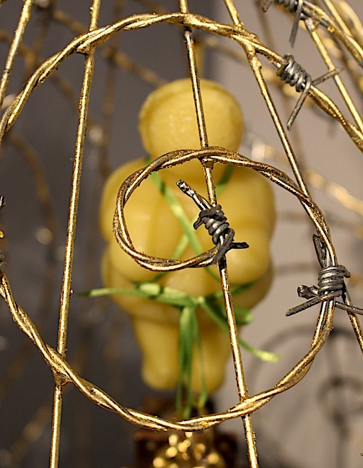 2.The Gilded Cage.detail.WillendorfWoman