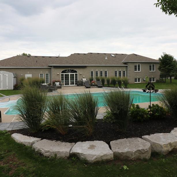 Poolside Patio