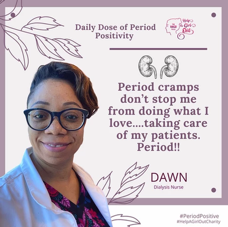 Daily Dose of Period Positivity Campaign
