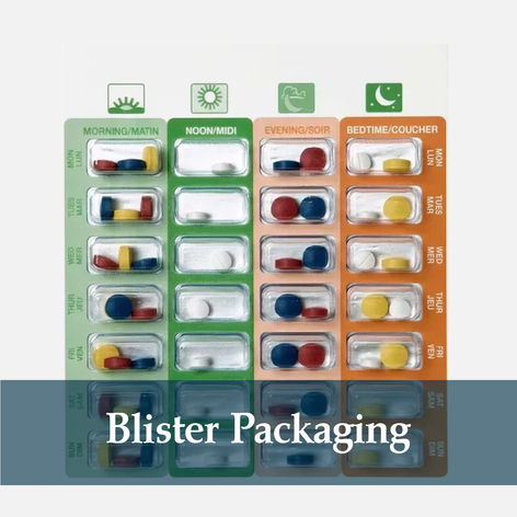 Do you take several medications and find it difficult to keep track of when and how to take them? We can prepare your pills in weekly blister packs, at no additional cost, to eliminate confusion and help you get the most out of your medication