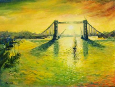 Sunrise on London Bridge