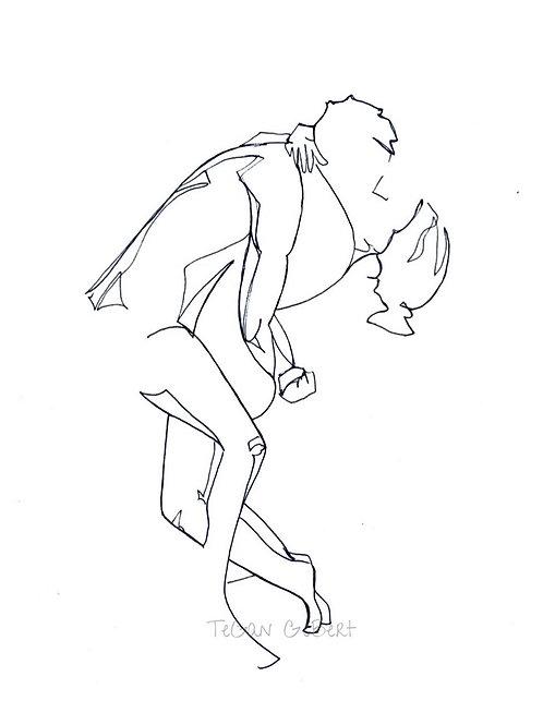 Fine Art Print - Couple (2)