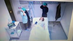 Patient trachéotomisé