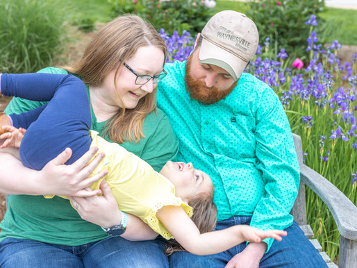 Harrison Family Session, Celebrating Time in St. Louis