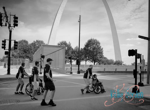 Nic and Pedro's Downtown St. Louis Wedding Rehearsal