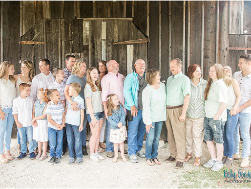 Sellers Extended Family Session