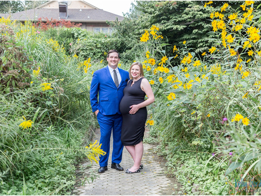 Emily and Will Maternity Session