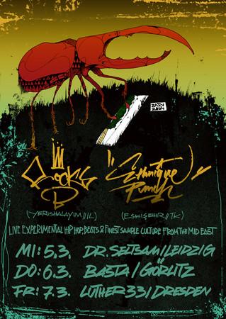 Mid-East Underground Revolt///Mini Tour////Dresden, Leipzig. Görlitz