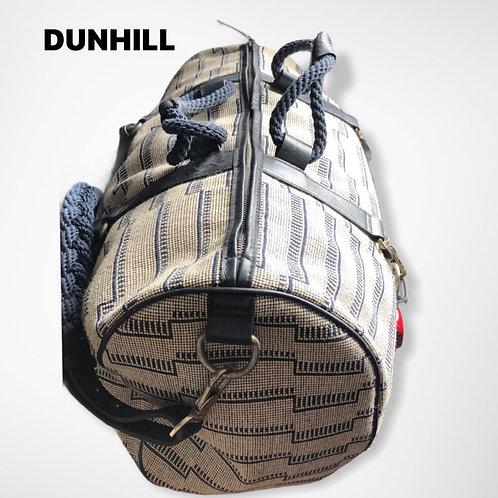 Dunhill  Marine Theme Fabric Holdall