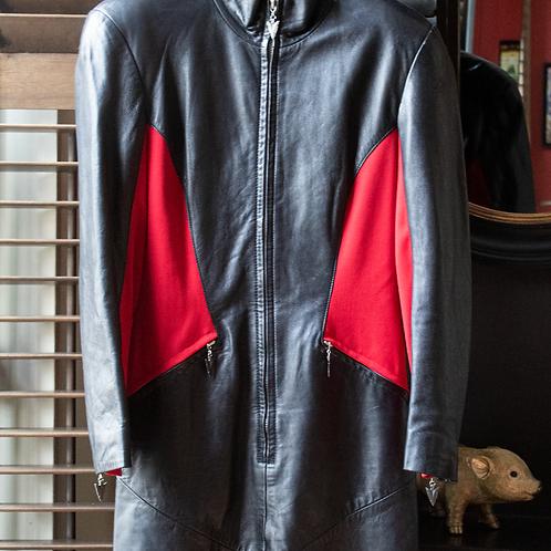 EREZ Cache Vintage leather dress / Size 10