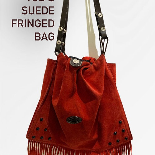 Tods Suede Fringed