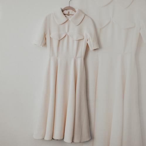 Emilia Wickstead White Structured Dress - Size 34