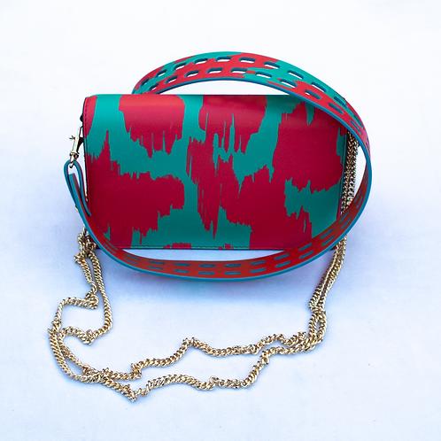 Diane Von Furstenberg mini leather crossbody bag