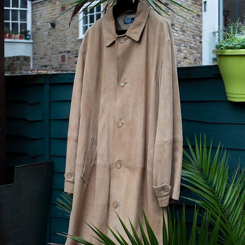 Vintage Ralph Lauren Leather Coat