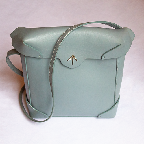 Manu Atelier Pristine Crossbody Leather Bag