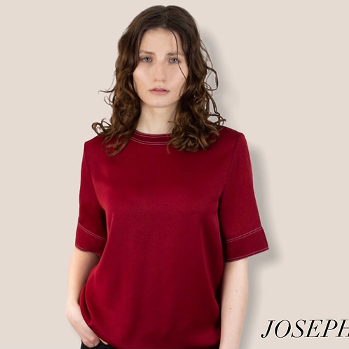 Joseph Stretch Crepe Top Size 38