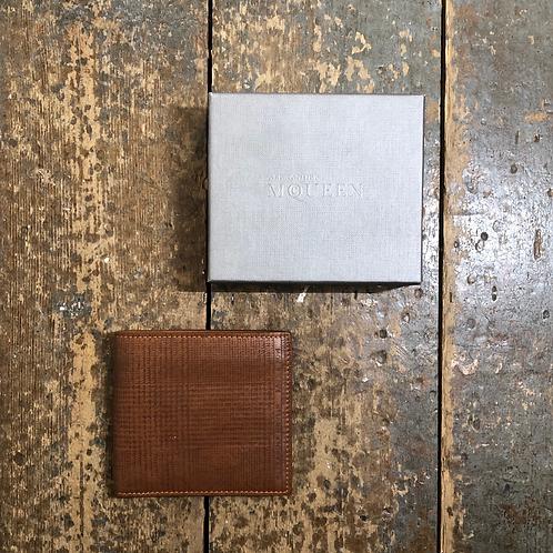 Alexander McQueen Tan Wallet