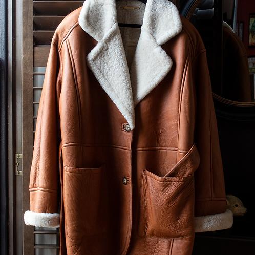 La MATTA Tan Sheepskin / size 44 IT/L