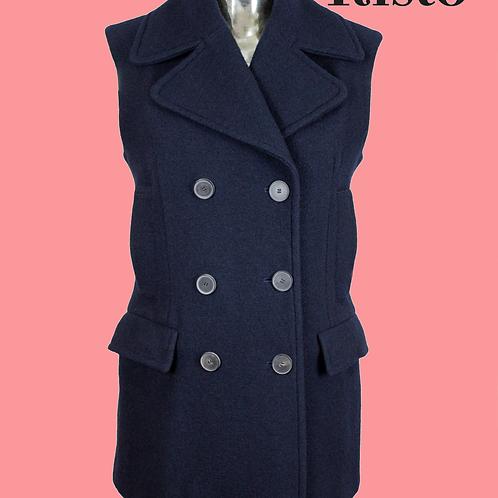Risto Double Breasted Sleeveless Jacket / Size 10