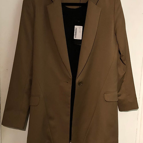 PREEN by Thornton Bregazzi Fine Wool Long Jacket Size Medium