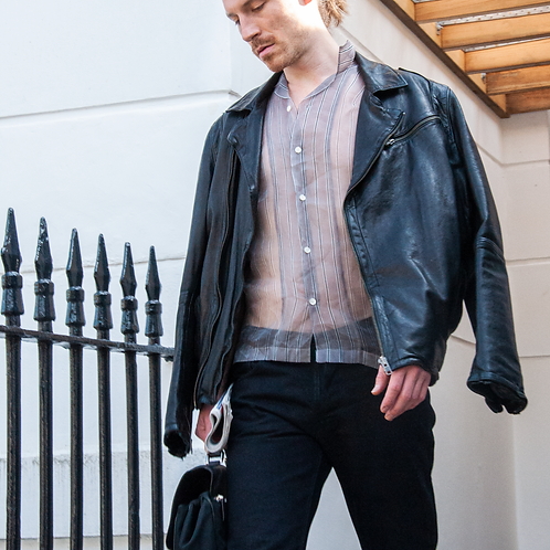 Oliver Sweeney Leather Jacket / Size L