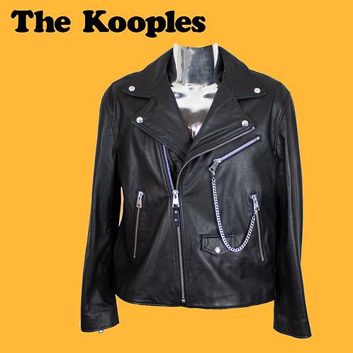 The Kooples Leather Jacket / Mans L