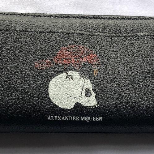 Alexander McQueen Skull And Crow Wallet