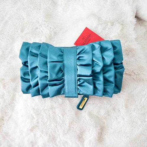 Valentino Satin Clutch Bag