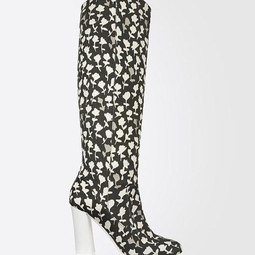 Max Mara Floral Boots / Size 36