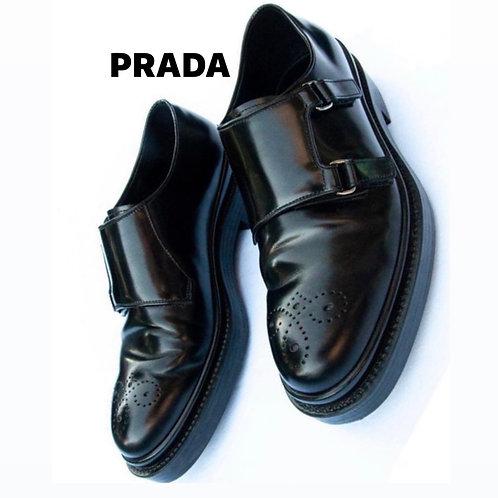 Prada Black Shoes Size7.5