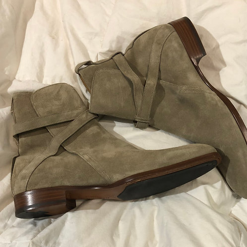 McQueen suede boots / Size 44