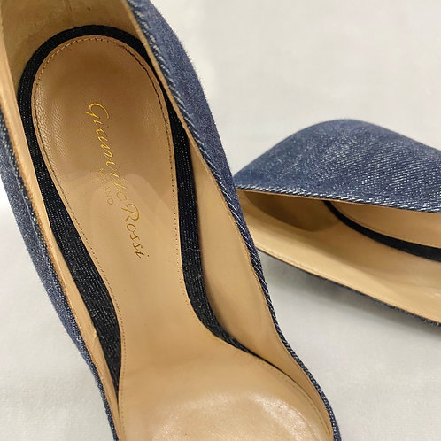 Gianvito Rossi Denim Pumps - Size IT 40