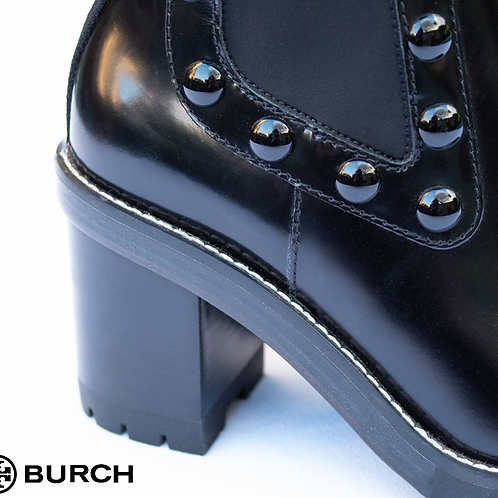 Tory Burch Studded Black Boots / Size UK 4.5 - 5