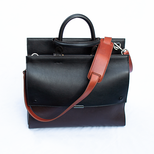 Victoria Beckham Leather Handbag in Block Colour