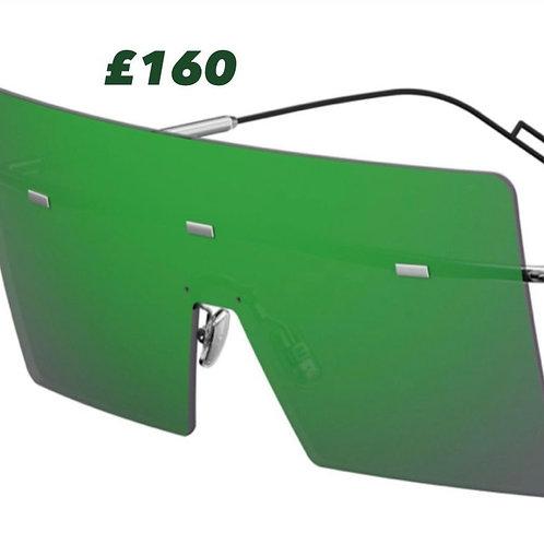 Dior Homme Hardior Green Sunglasses