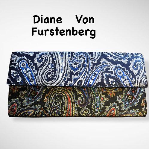 Diane Von Furstenberg Paisley Clutch
